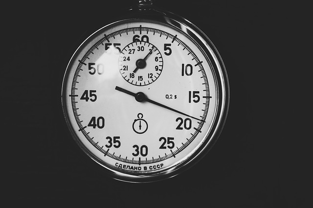 Tabata in 20 seconden intensief en 10 seconden rust.