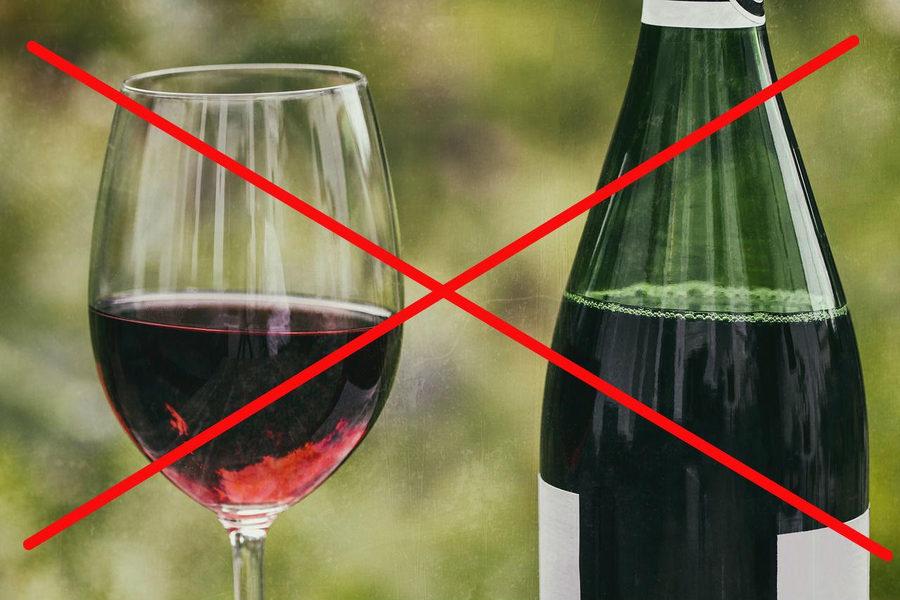 goede voornemen geen rode wijn